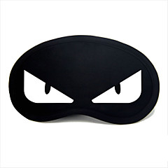 Reiseschlafaugenmaske Typ 0037 weiße Teufel Augen