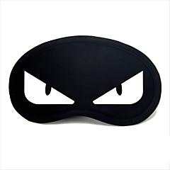 reizen slaap oogmasker Type 0037 witte duivel ogen
