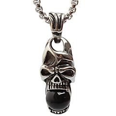 z227 europa og usa udenrigshandel, kranium titanium stål halskæde vedhæng (ikke inklusive kæde)