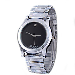 Unisex Fashion New Sloggi Stainless Steel Belt Simple Business Quartz Watches Casual Watches Wrist Watches Brithday Gift