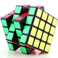 Yongjun® Tasainen nopeus Cube 4*4*4 Fluoresoiva / Professional Level Rubikin kuutio Musta Fade / Ivory Muovi