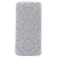 Mert LG tok Átlátszó / Minta Case Hátlap Case Csempe Puha TPU LG LG G5