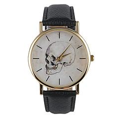 Unissex Relógio de Moda Quartz Relógio Casual PU Banda Pendente Preta marca