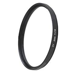 emoblitz 86mm uv ultra-violete filtru de lentile protector negru