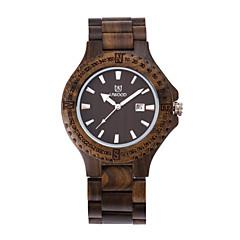 mens moda relógio / caixa de madeira de bambu relógio de pulso retro idéia / presente