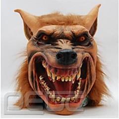Halloween Latex Mask Creepy Wolf Head Animal Mask Halloween Cosplay Costume Adult Party Masks Drop