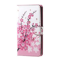 Voor Huawei hoesje Portemonnee / Kaarthouder / met standaard hoesje Volledige behuizing hoesje Boom Hard PU-leer Huawei Huawei Y560