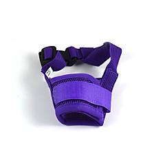 Koirat Kuonokopat Turvallisuus Punainen / Maalattu / Valkoinen / Sininen / Pinkki / Violetti Punottua materiaalia / Silmukka