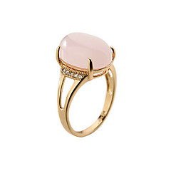 Band Rings Opal 18K gold Alloy Fashion Jewelry Party Daily Casual 1pc