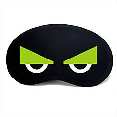 los viajes de ojos para dormir tipo máscara 0042 búho ojos verdes
