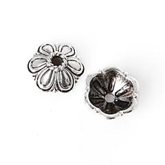 beadia 18db antik ezüst ötvözet gyöngyök 10x4mm távtartó gyöngyök&gyöngyök sapka