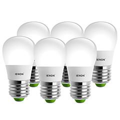 E26/E27 LED gömbbúrás izzók S14 8 SMD 400-450 lm Meleg fehér Hideg fehér Dekoratív AC 100-240 V 6 db.