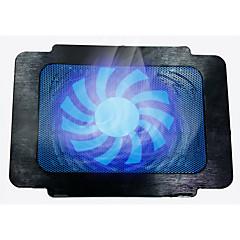 ultrafino del ordenador portátil cojín de enfriamiento del ventilador de bajo ruido
