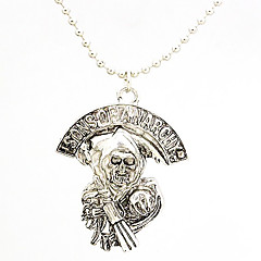 The Son of The Jewelry Products, The Confusion Surrounding The European And American Film And Television Skull Necklace