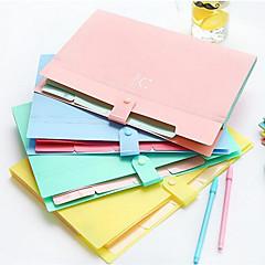 Multifunction Simple File Folder Into Sandwich Bags 5 Portfolio A4 Document Folder Package