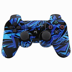 joystick bluetooth senza fili DualShock3 Controller SIXAXIS ricaricabile gamepad per Sony PS3 (multicolore)