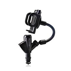 Βάση στήριξης τηλεφώνου stand stand stand αυτοκινήτου με πλαστικό προσαρμογέα για κινητό τηλέφωνο iphone 8 7 samsung galaxy s8 s7