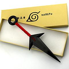 Όπλο / Σπαθί Εμπνευσμένη από Naruto Naruto Uzumaki Anime Αξεσουάρ για Στολές Ηρώων Όπλο Λευκό / Κόκκινο PVC Ανδρικά