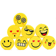 Cute Smling Face Stylish Erasers 4PCS-Packed