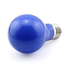 E27 diodowe kulki bańki światowej 5w 450-500lm ciepły biały / chłodny biały / czerwony / niebieski / zielony ac 100-240v (1 szt)