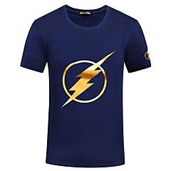 Løb T-Shirt / Sweatshirt Herre Kort Ærme Åndbart / Hurtigtørrende / Svedreducerende / Bekvem Nylon / Chinlon Løb Sport Sport Wear