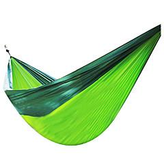 Résistant à l'humidité Respirabilité Séchage rapide Bonne ventilation Anti statique Rectangulaire Ultra léger (UL) énorme HamacJaune Vert