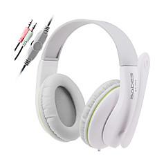 Sades SA701 Fones (Bandana)ForLeitor de Média/Tablet / ComputadorWithCom Microfone / DJ / Controle de Volume / Radio FM / Games /