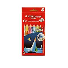 Staedtler 12 Color Water-Soluble Color Of Lead Secret Garden Oily Coating Color Pencil