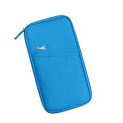 blue multifunctionele ontvangen zak zak paspoort portemonnee portemonnee zak pakket