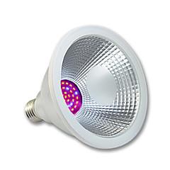 15W E26/E27 LED-vækstlampe PAR38 36 SMD 3020 1200 lm Lyserød Vandtæt AC 100-240 V 1 stk.