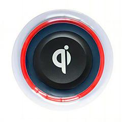 Samsung s8 s8 plus s7 kenarı s6 kenarı plus note5 lg g2 g3 g4 veya diğer yerleşik qi alıcı akıllı telefon için kablosuz şarj tabanı