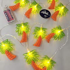 1PC LED Home Christmas Outdoors Decorate 1.65M 10 Dip Waterproof String Lights