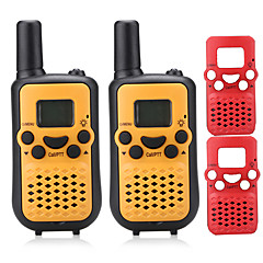 Az ingyenes PMR 446mhz walkie-talkie gyerekeknek (random extra cserélhető frontcase) 0,5W 8 csatorna 38ctcss akár 5km