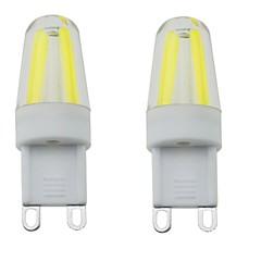 3W G9 Luces LED de Doble Pin T 4 COB 300-350 lm Blanco Cálido / Blanco Fresco / Blanco Natural Regulable / Decorativa / ImpermeableAC