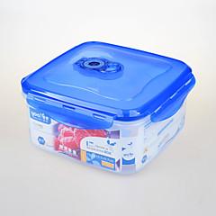 yooyee bpa marca certificado FDA libre contenedor de almacenamiento con cerradura galleta