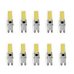 9 G9 Luminárias de LED  Duplo-Pin T 1 LED de Alta Potência 450 lm Branco Quente / Branco Frio Decorativa AC 220-240 V 10 pçs