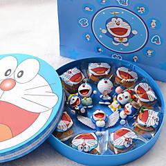 선물 생일 파티 호의 및 선물 클래식 테마 실린더 블루 고품질 용지 비 개인 1조각/세트