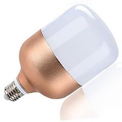 28W E27 2600lm lämmin viileä valkoinen väri alumiini led maailmaa lamput spot lamppu nousi kulta kuori (ac160-265v)
