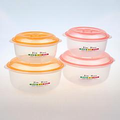 YOOYEE Brand Salad Bowl Wholesale,salad bowl with lid ,plastic transparent salad bowl