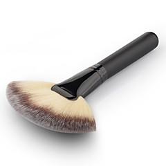 New 1pc Soft Makeup Large Fan Brush Blush Powder Foundation Make Up Tool Big Fan Cosmetics Brushes