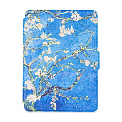For New Kindle Reader Smart Ebook  Cases Colorful Painted Leather Case Flip Cover Multocolor