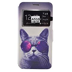 Για Samsung Galaxy Θήκη Θήκη καρτών / Ανθεκτική σε πτώσεις / Προστασία από τη σκόνη / με βάση στήριξης tok Πλήρης κάλυψη tok Σκύλος Μαλακή