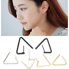 Øreringe Geometric Shape / Triangle Shape Stangøreringe Smykker 1 par Mode Bryllup / Daglig / Afslappet Legering Dame / HerreGylden /