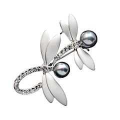 modeaccessoires voor dames broche romantische kristal klassieke libelle halsdoek broches sieraden
