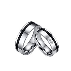 2016 Fashioin Stainless Steel Wedding Special Couples Cubic Zirconia Ring  For Women&Man