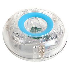kinderen zwemmen onderwater flash geleid kleurrijke float bad lamp toy transparant sky blue