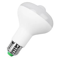 E27 B22 85V-265V 500-650Lm 9W Body Sensor LED Bulb