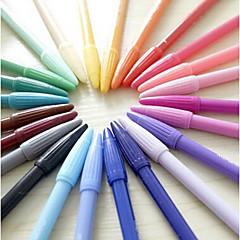 Μαρκαδόροι & Υπογράμμισης Στυλό Υδατογραφίας,Πλαστικό Τυχαία Χρώματα