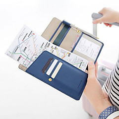 Long Wallet Passport Holder Ticket Case
