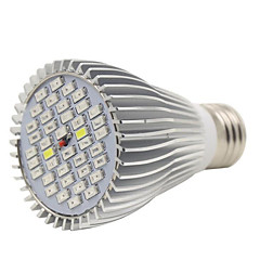 E27 40LED 22Red12Blue2White2IR2UV Full Spectrum Led Plant Grow Lamps for Garden Flowering(AC85-265V)